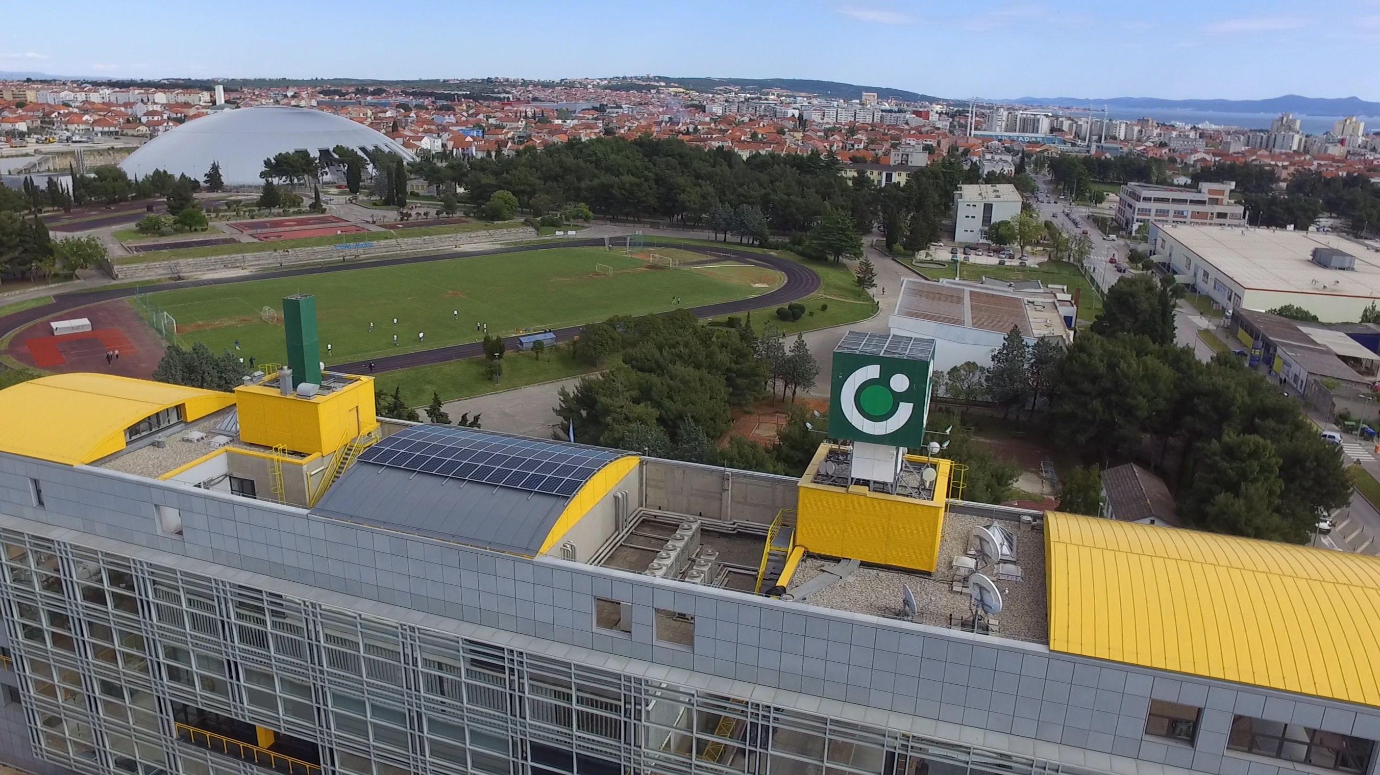 OTP Solarni paneli_upravna zgrada Zadar 2016