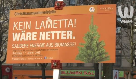 christbaumsammelstelle