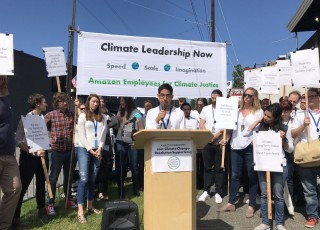 amazon employees for climate