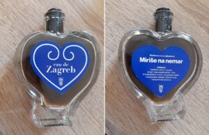 """Skupocjeni"" parfem neugodnog mirisa EAU DE ZAGREB – iz srca Jakuševca / Foto: Zelena akcija"